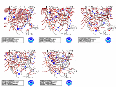The 5 Day Outlook Weather Map