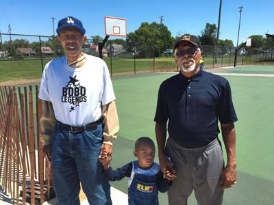 Danville's new basketball courts belong to 'BoBo'
