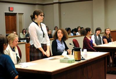 Students spend week learning about courts