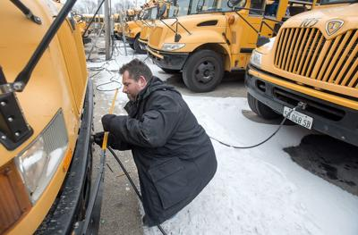 Fleet maneuvers: Keeping school buses running when winter hits