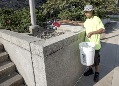 CU at Work pays homeless to help clean up Champaign