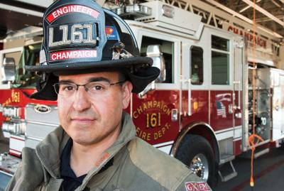 Champaign Firefighter of the Year maintaining family business