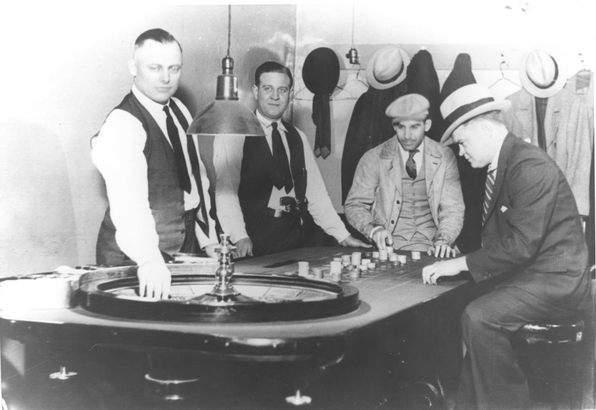 Staged gambling