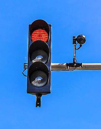 LEG red light camera