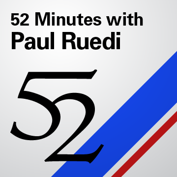 52 with Paul Ruedi
