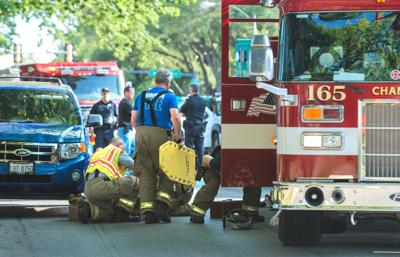 Teen hit by SUV on way to Centennial