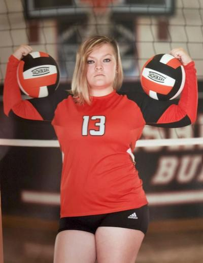 Leah McCoy Fisher volleyball