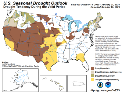 The Seasonal Drought Outlook for the Nation