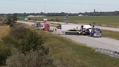 I-57 Paxton semi crash 092419