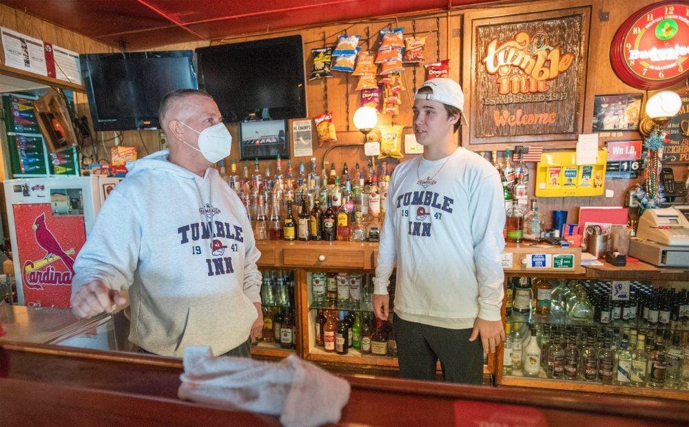 virus bars Tumble Inn