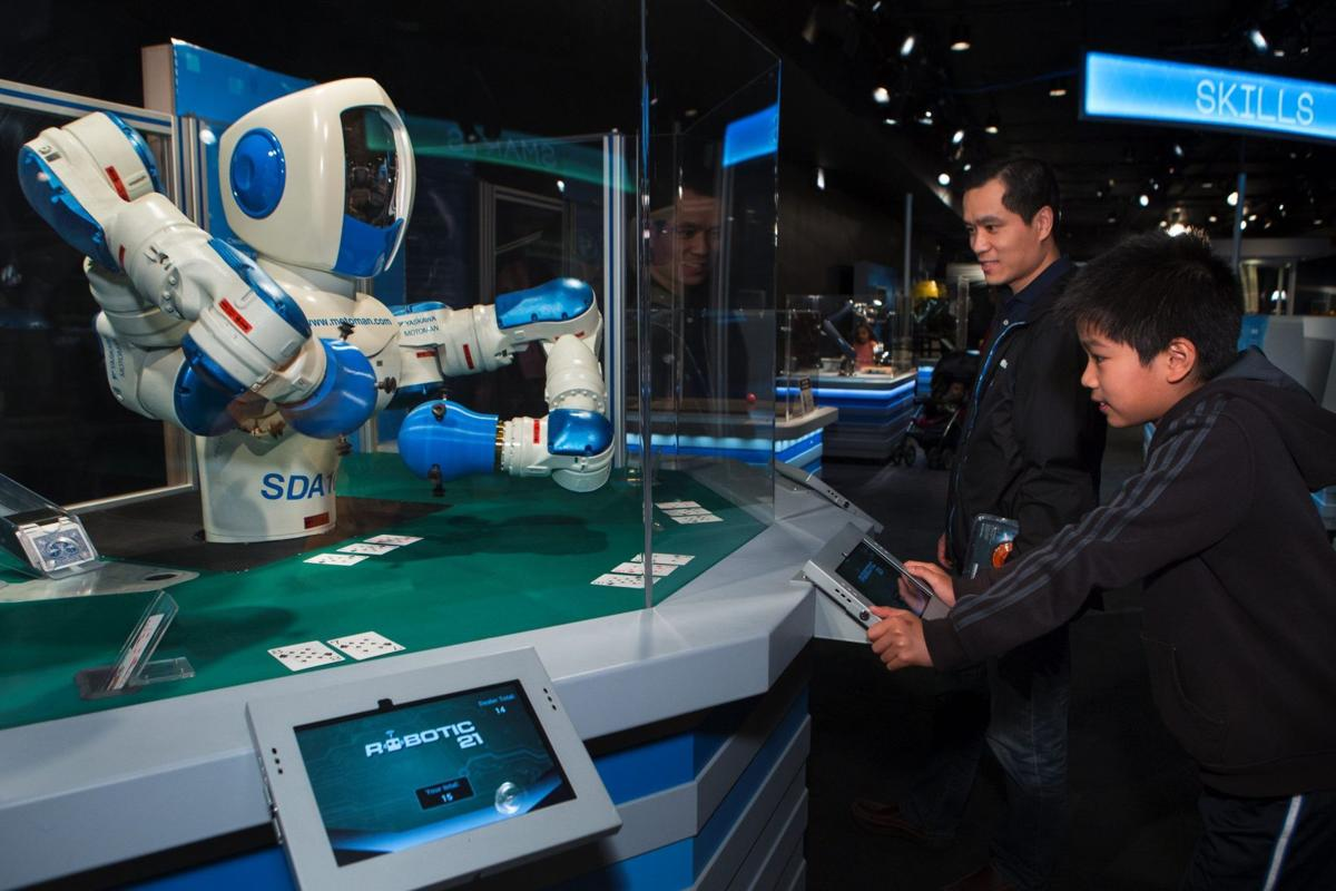 Robots invade Chicago's Museum of Science and Industry