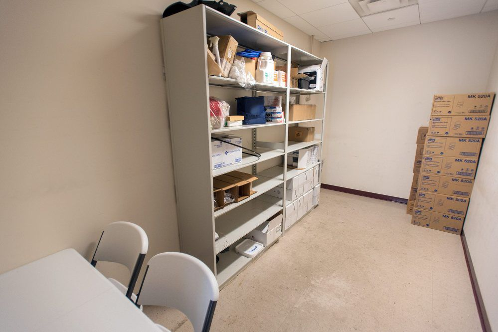 lactation room before