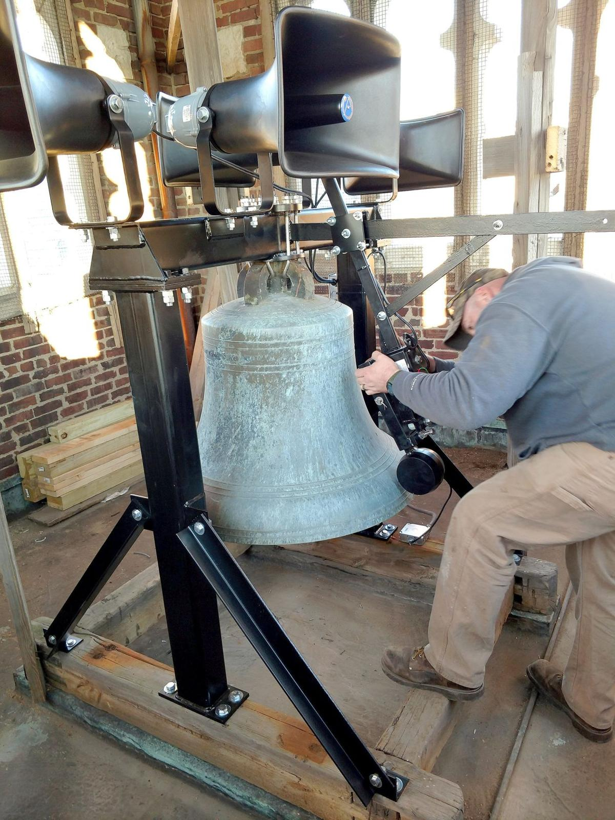 Jingle bells: Restoration done in time to ring in Christmas Eve