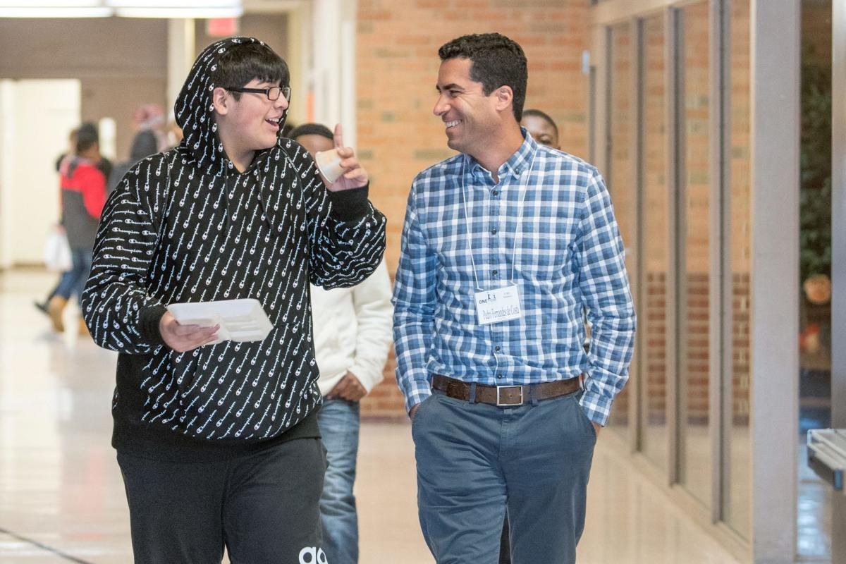 Schools seek more adults, especially men, for mentoring program