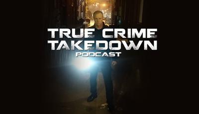 True Crime Takedown podcast logo