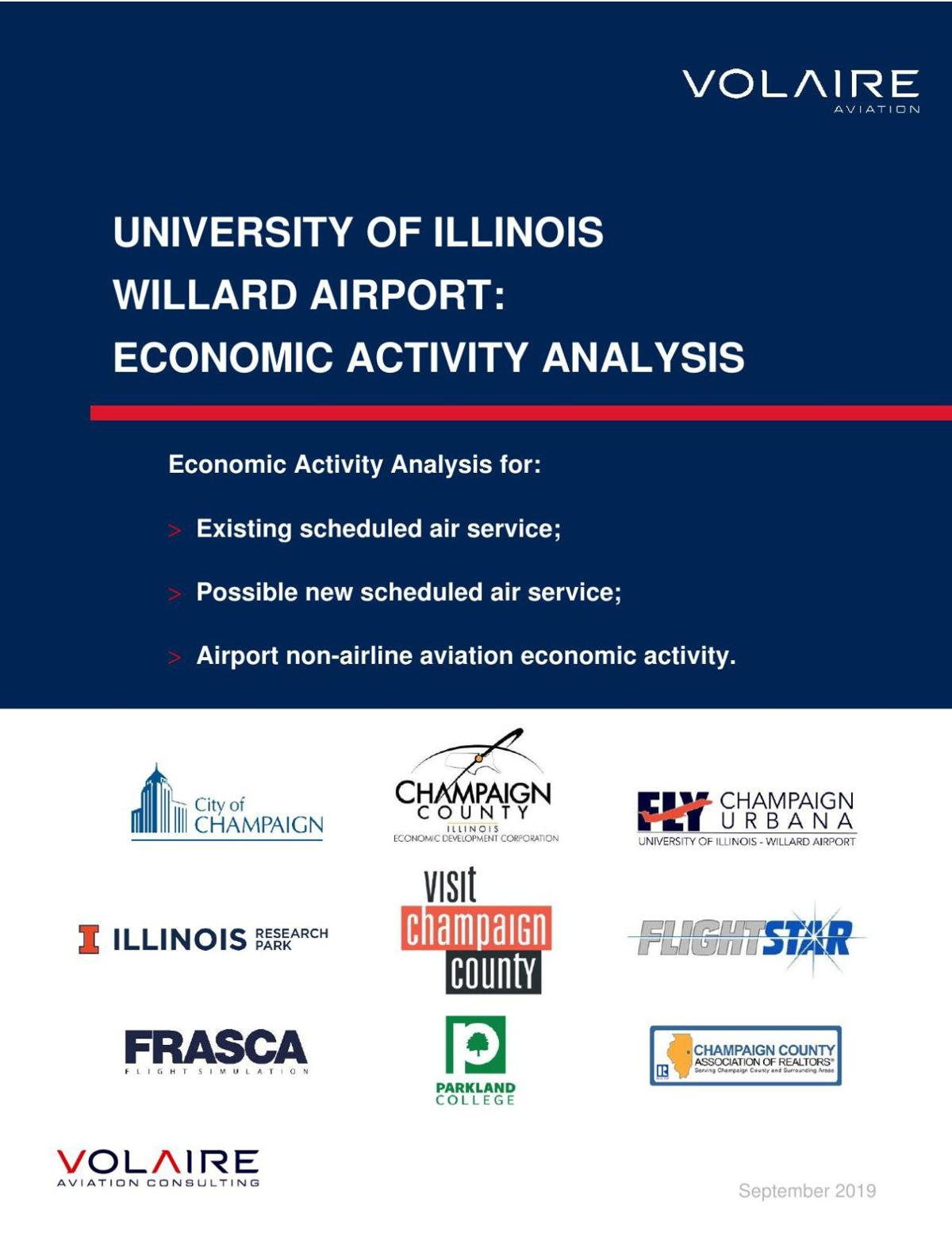 PDF: Willard Airport economic activity analysis, September 2019
