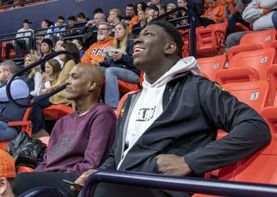 Antigua dishes on Cockburn and what he brings to Illini