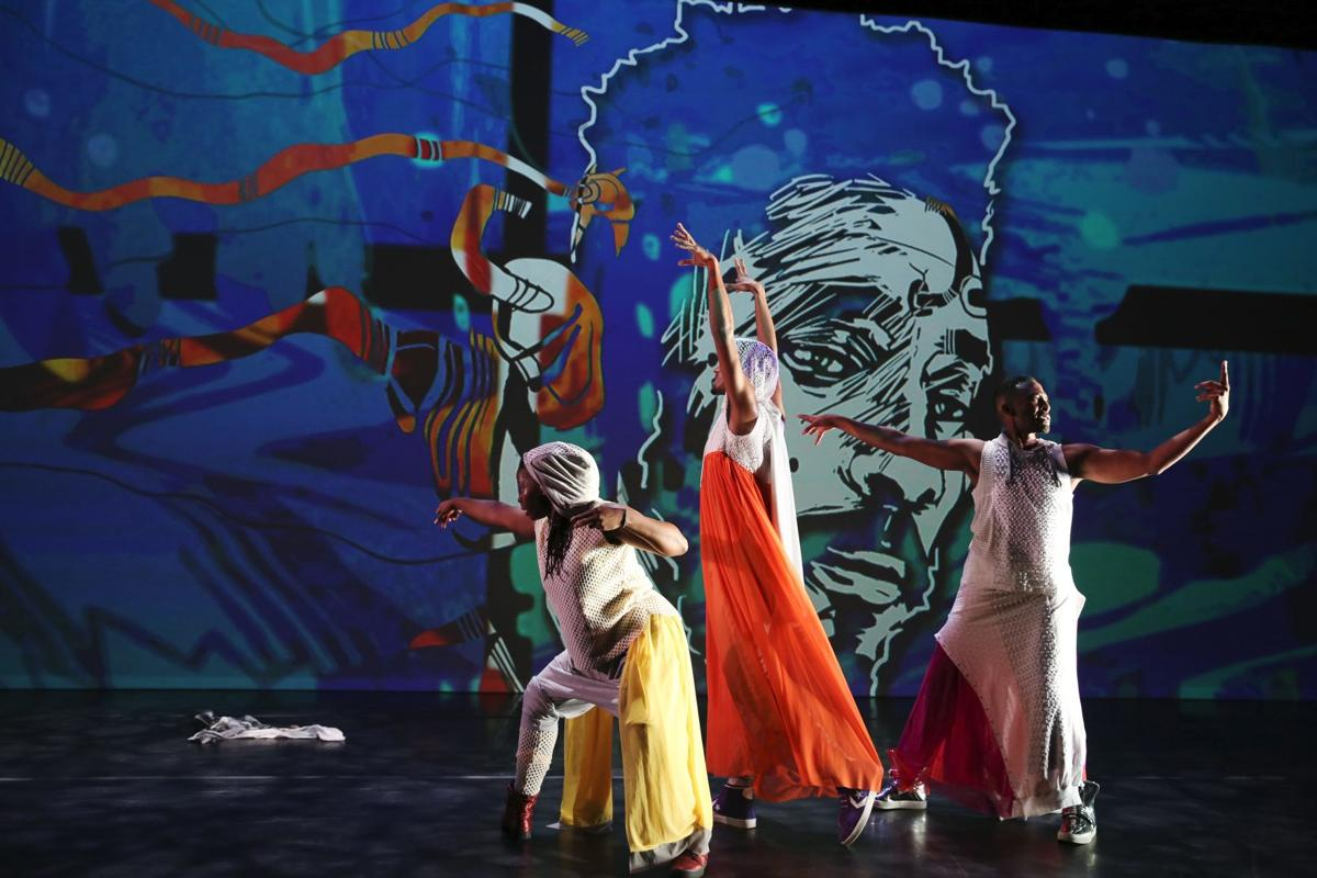 Caribbean influences evident in UI dance professor's 'Virago-Man Dem'