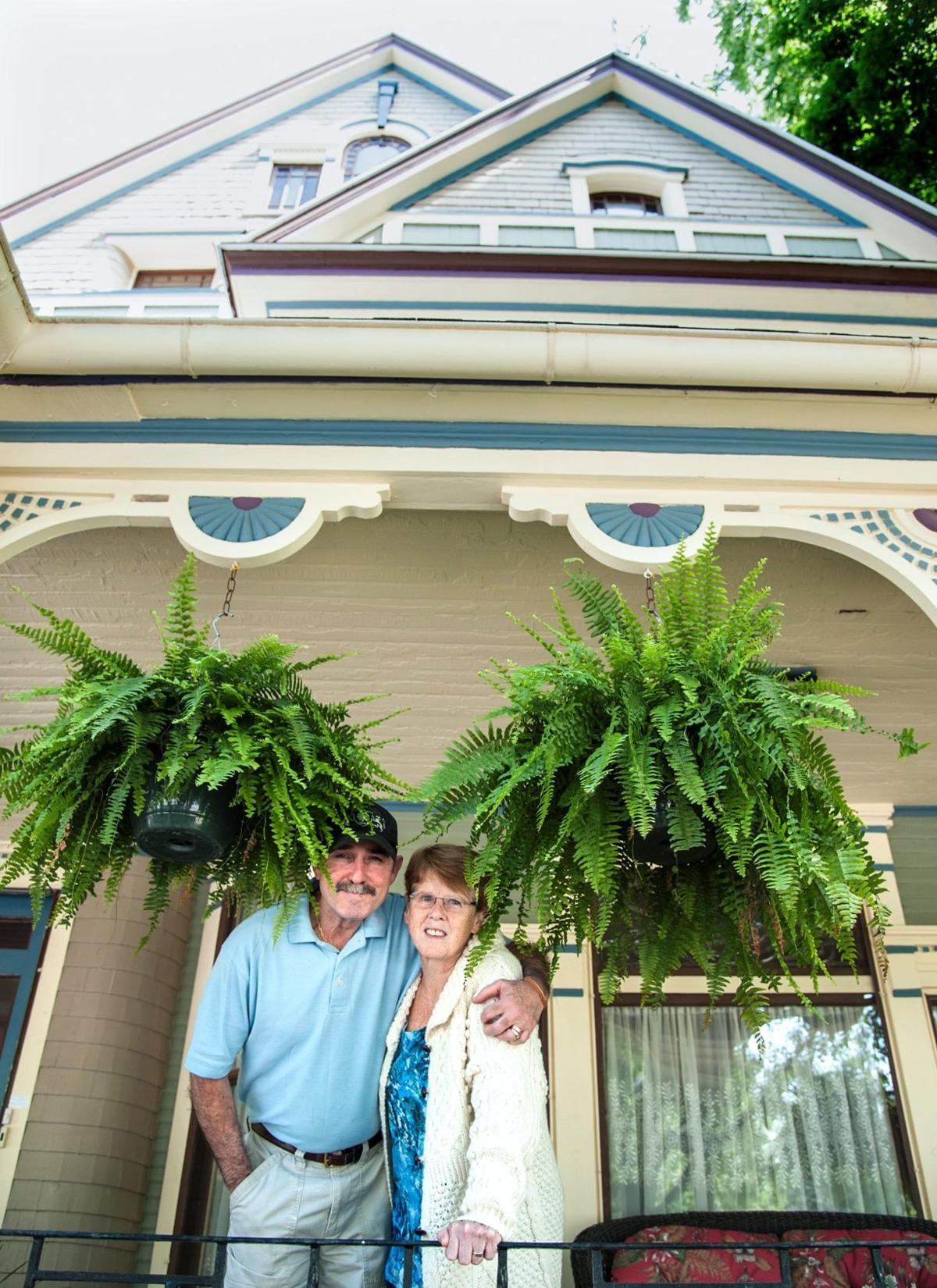 Slice of life: A dream house and dream collection in Urbana B&B