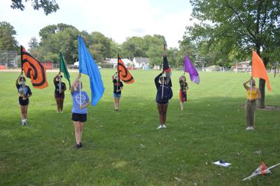 Urbana High School Color Guard