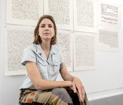 Going deaf has influenced her art