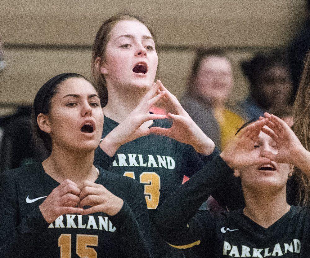 Parkland vball Allen1