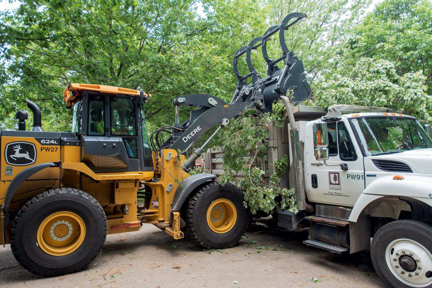 storms cleanup costs Urbana