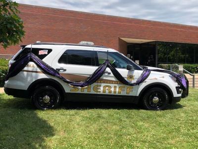 CCSO Deputy Briggs car