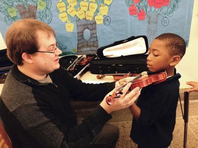 Danville starts violin program for first-graders at 2 schools