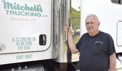 Mansfield trucker still driven after 50 years