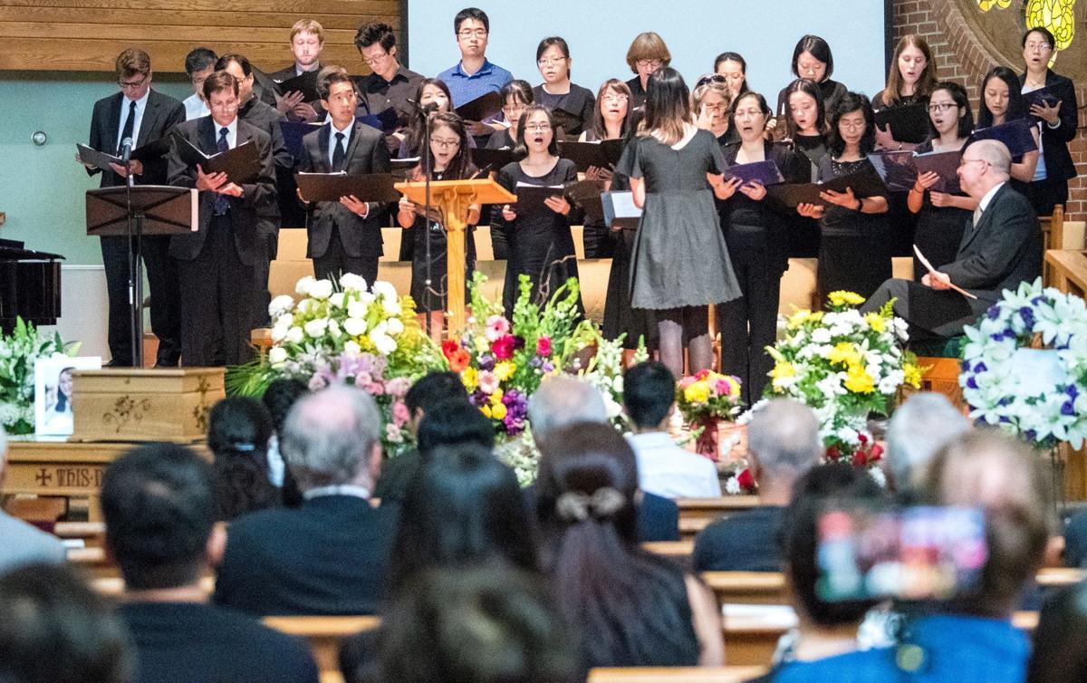 Zhang memorial service 1