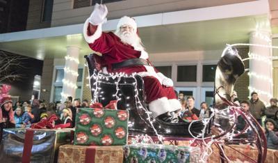 Parade of Lights 2017 Santa