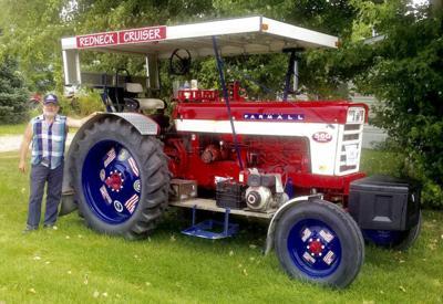 TOTM Half Century of Progress Norman tractor