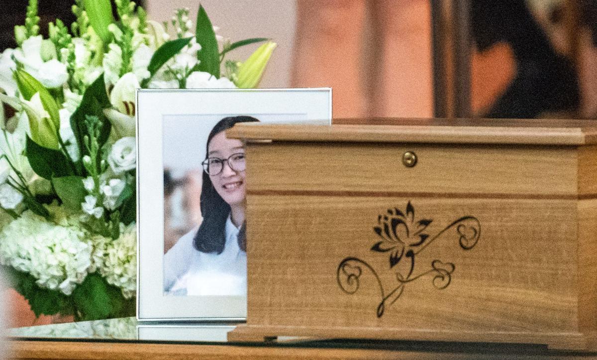 Zhang memorial service 2