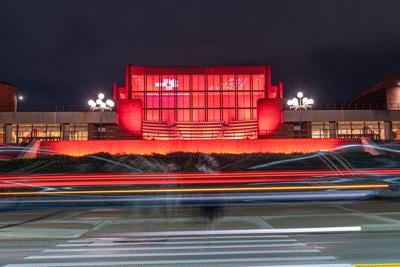 Krannert Center Red