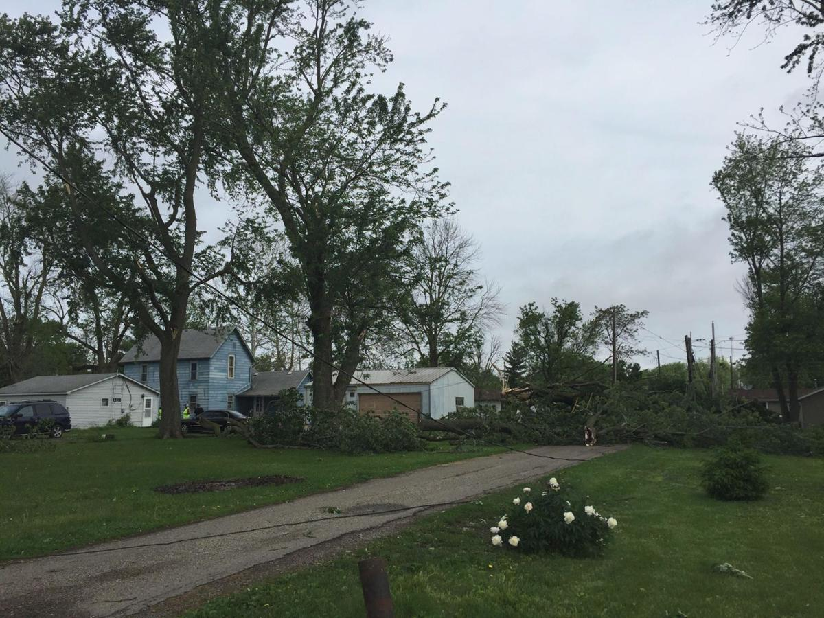 Muncie residents cleaning up after taking brunt of overnight storm