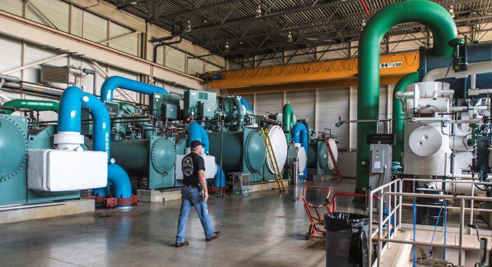 UI energy chiller plant2
