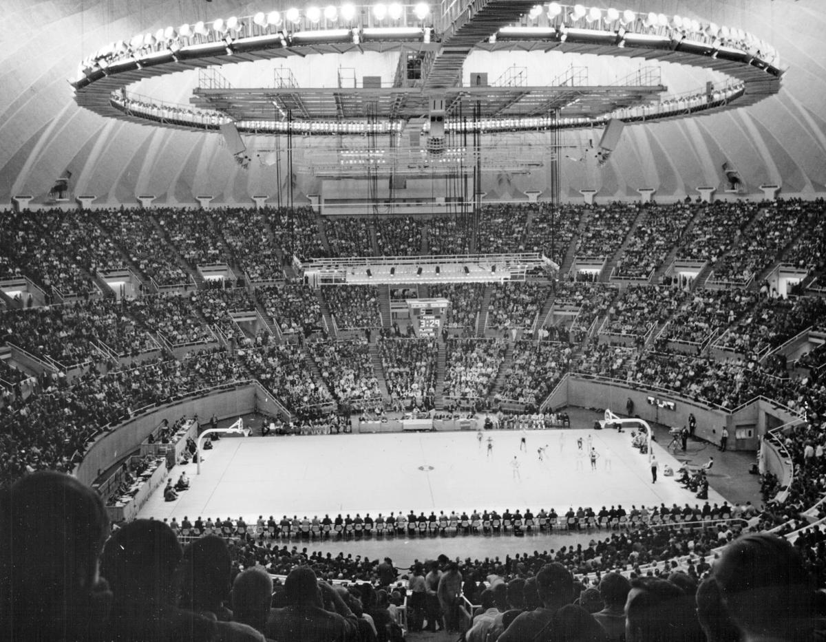 Assembly Hall 1971 state tournament