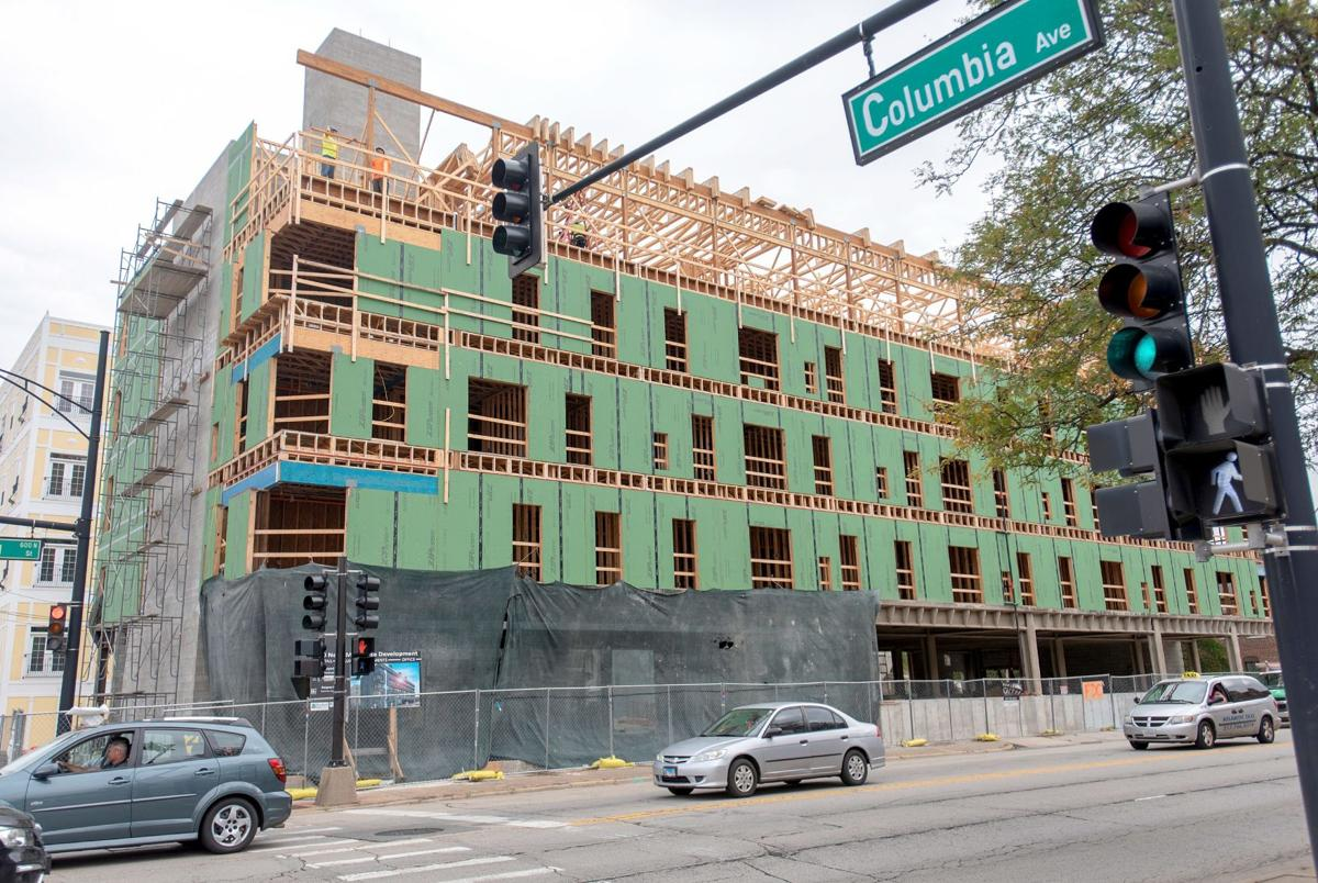 'Gateway into downtown': 520 Neil construction progressing