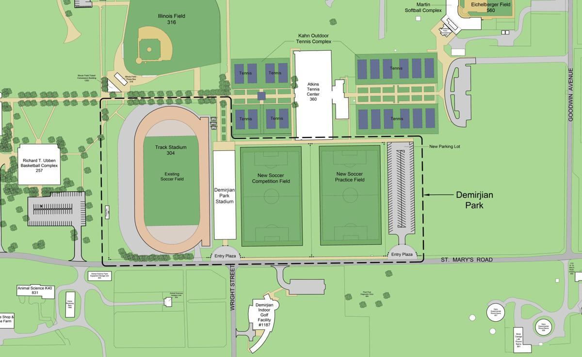 UI soccer, track teams get a park of their own