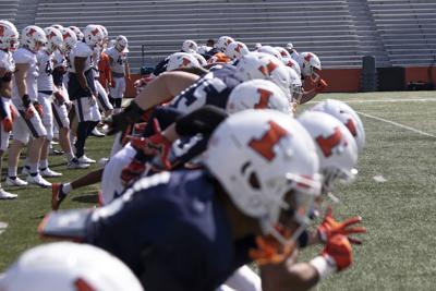Illinois football spring practice