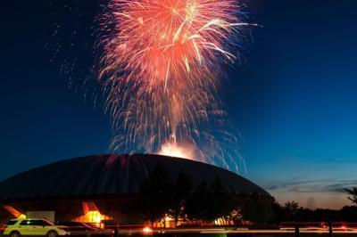 CCFC fireworks 2014 radio