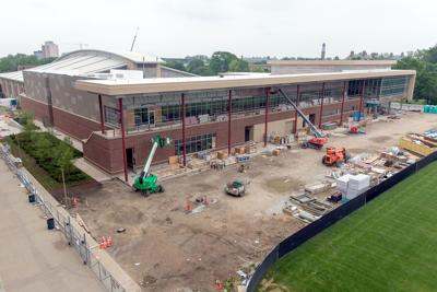 Move-in date for new football facility set for late July