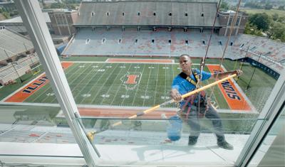 UI hoping to boost cell reception, eventually add Web access at Memorial Stadium
