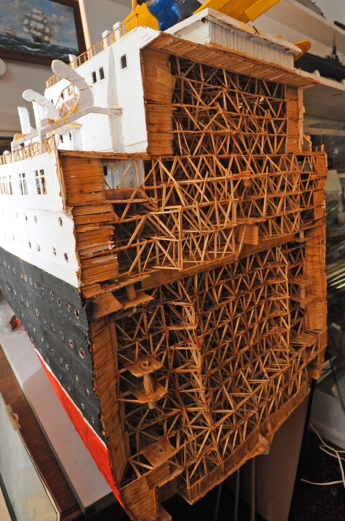 Sadorus museum crammed full of maritime history with models, texts, much more