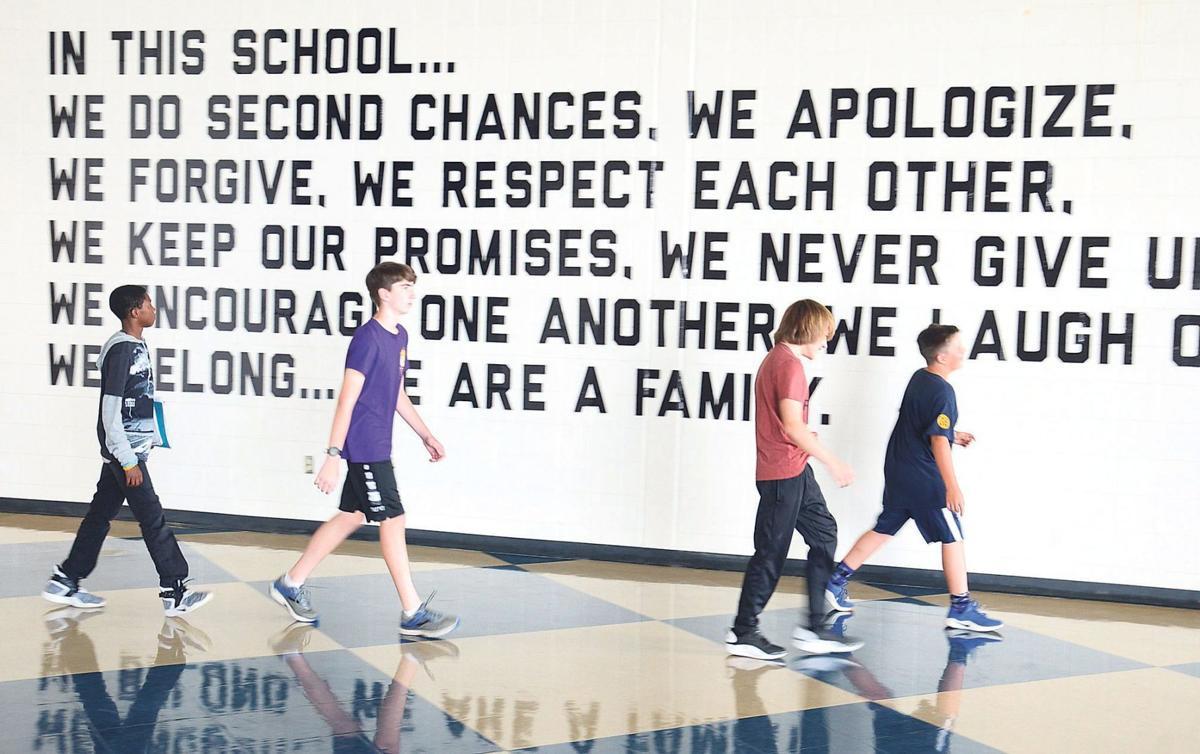 Now trending in schools: Positive messages   News   news ...