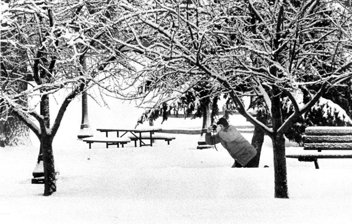 West Side Park 1979 blizzard