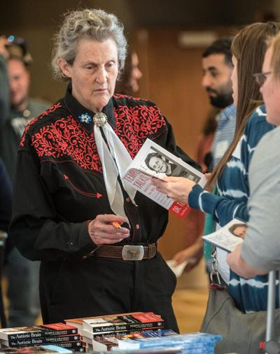 Temple Grandin returns to alma mater for autism conference