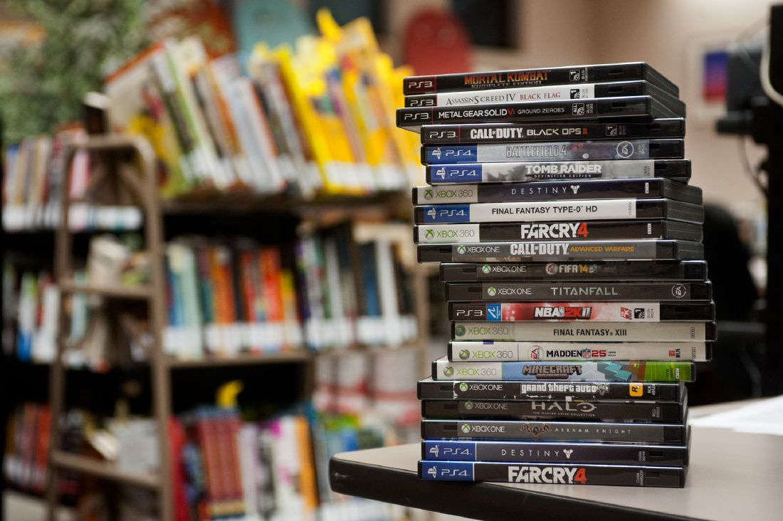 Longview Public Library adds video games | Local News | news-journal.com
