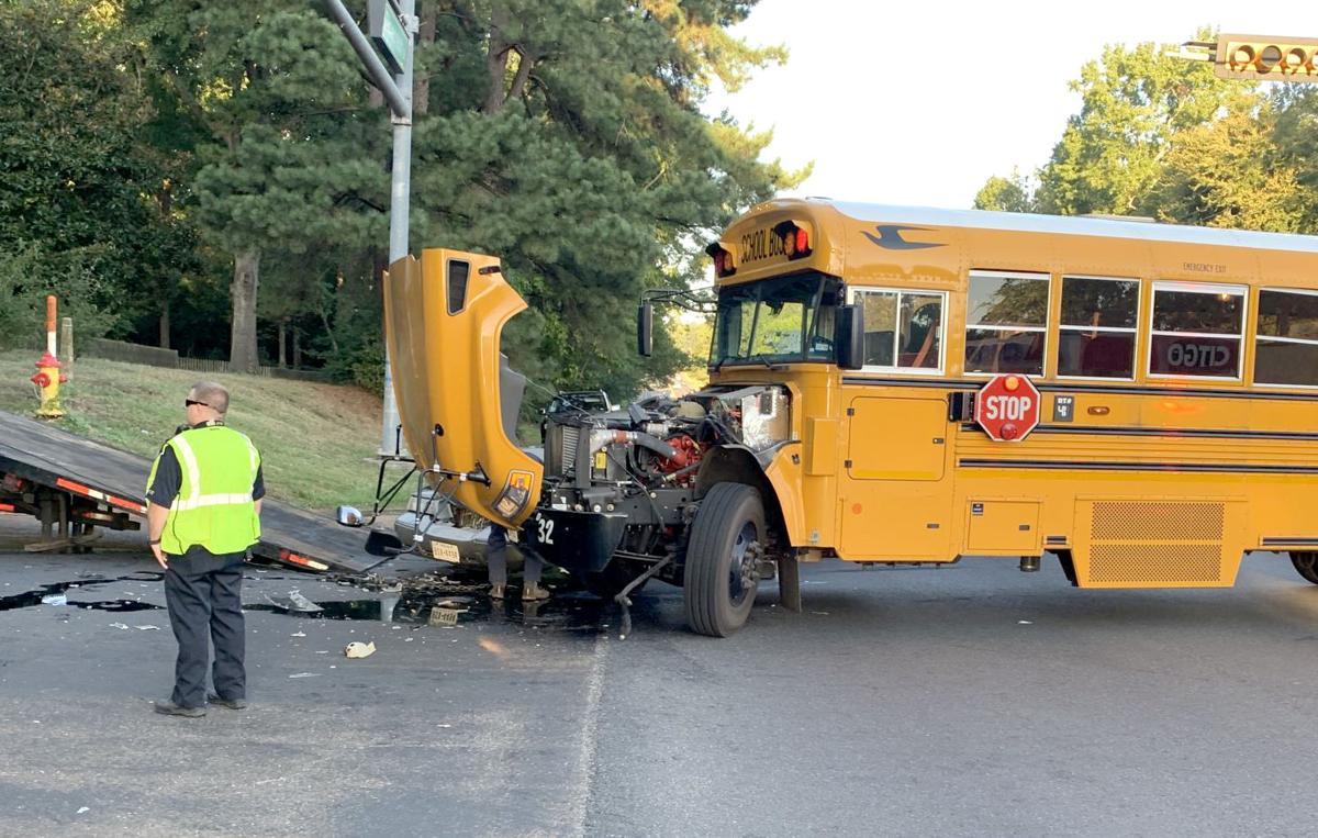 Marshall bus wreck